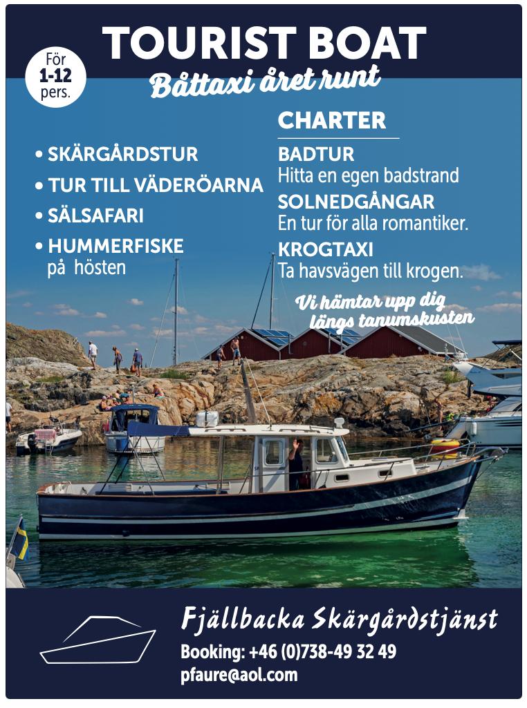 Tourist boat Fjällbacka
