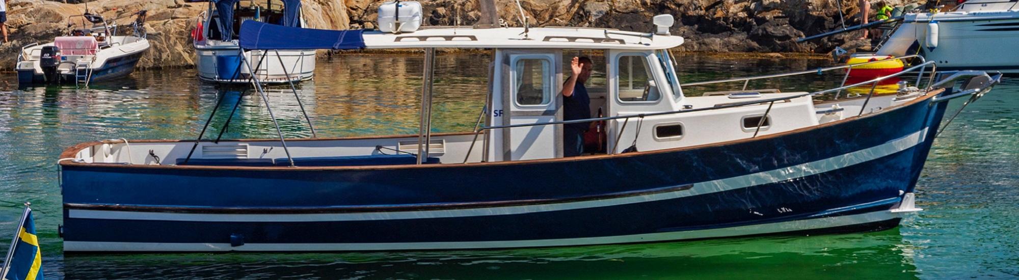 Tur till Väderöarna i Fjällbacka